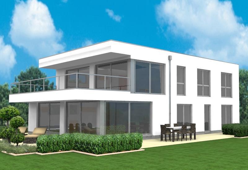 bauhaus stil moderne architektur individuell entworfen bauunternehmen nagelbau gmbh. Black Bedroom Furniture Sets. Home Design Ideas